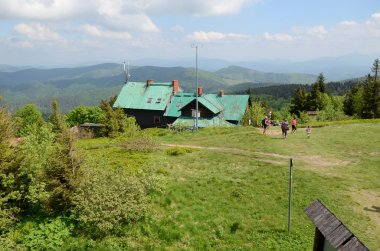 Mountain shelter (Wielka Racza, Beskidy)