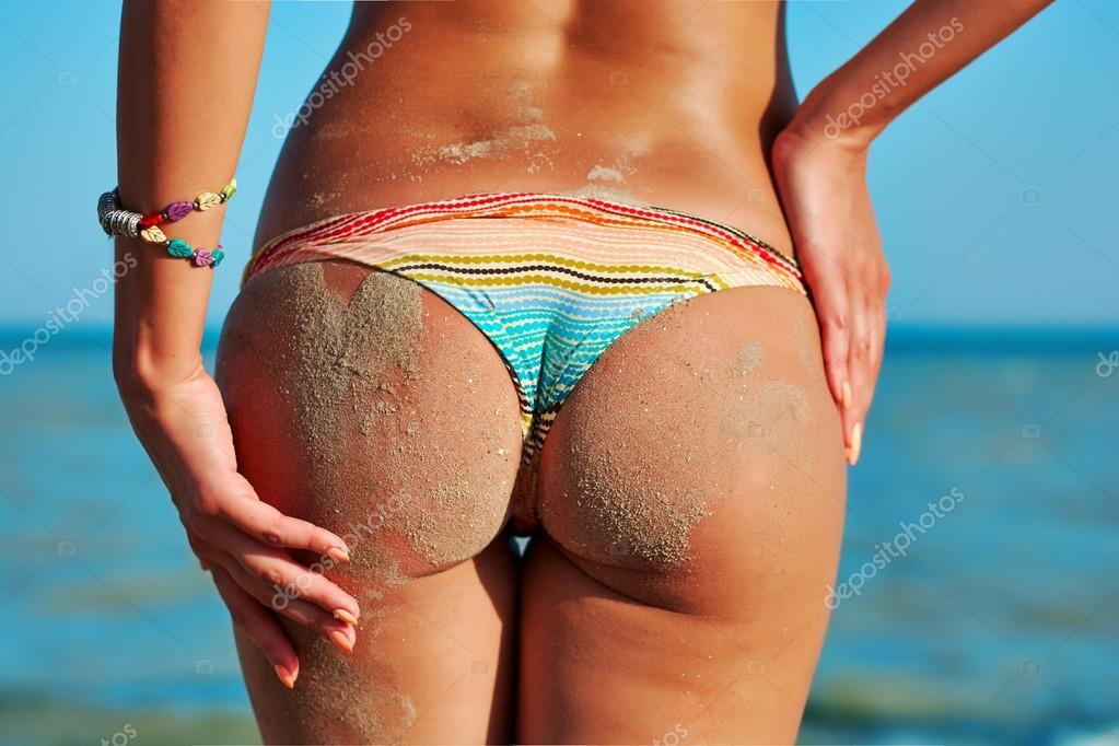 bikini met mooie achterkant