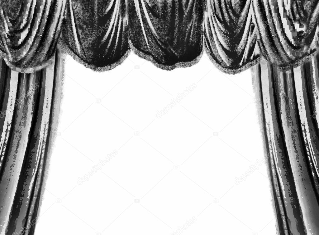Vorhang Theater Galerie : Rot · theater vorhang vektor transparent plakat