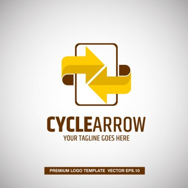 Cycle Arrow with Note.