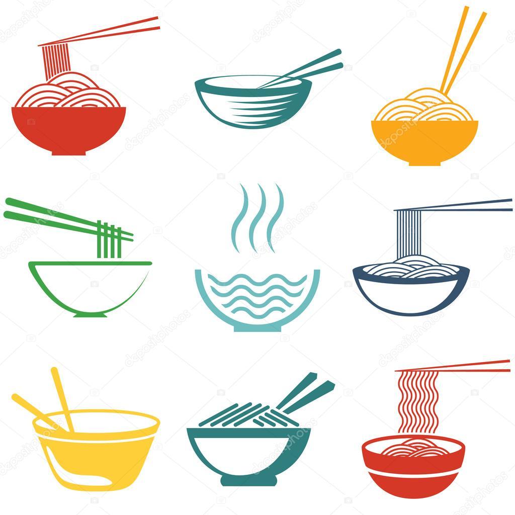 Set of noodles