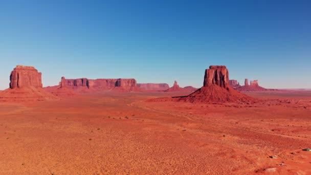 Památník údolí skalní útvary v zemi Navajo