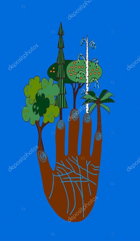 ecological hand