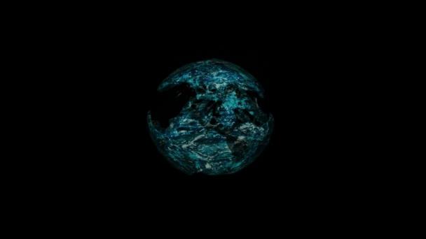 vodní koule animace