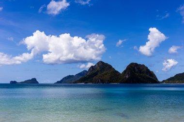 Island  Palawan (El nido) in the Philippines