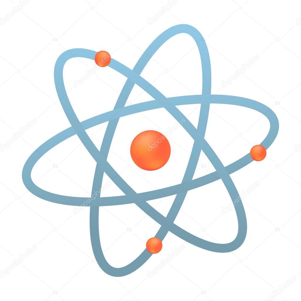 atom logo vector illustration � stock vector 169 irkast