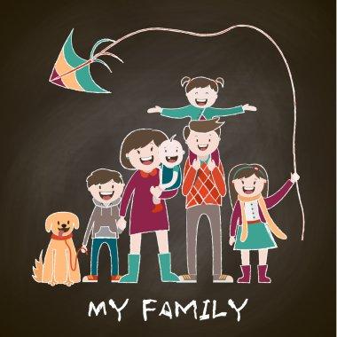 my big happy family