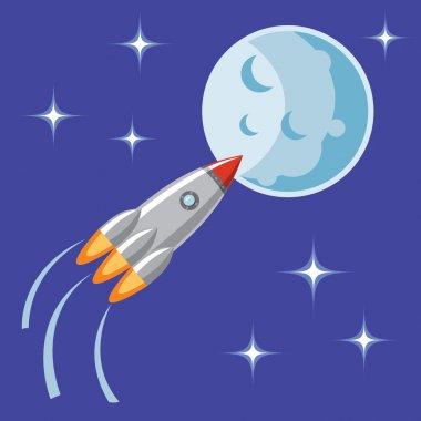 rocket, spaceship, spaceship