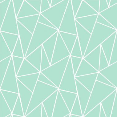 Abstract pattern. Triangular pattern. Cracks. Mosaic of circles. Abstract seamless vector pattern.