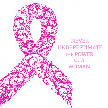 Symbol of the fight against breast cancer
