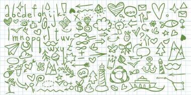 Universal doodle set