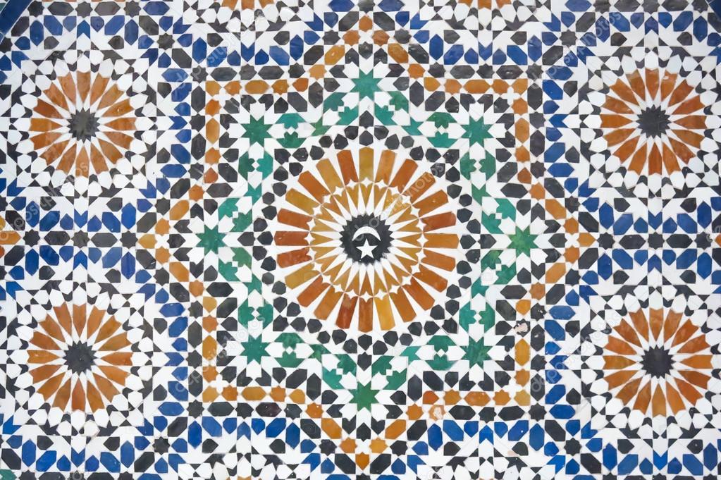 摩洛哥的马赛克瓷砖的装饰 图库照片 169 Imanolu#67762471