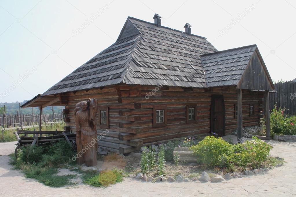 maison bois ukraine