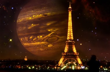 What if. France, Paris