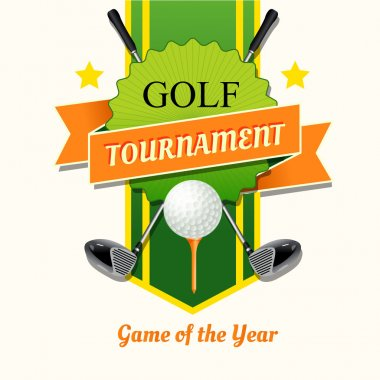 Poster of golf tournament