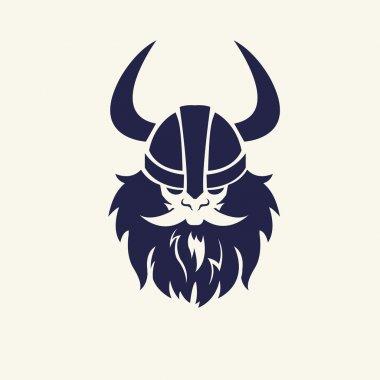 ancient viking head.