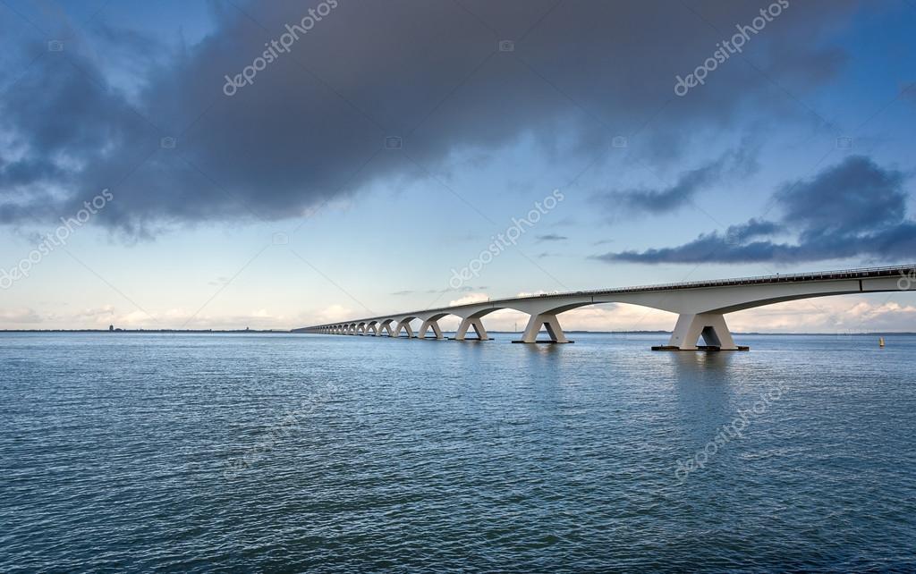 ゼーラント州橋 — ストック写真 ...