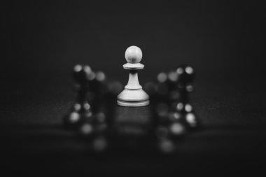 black and white stroke