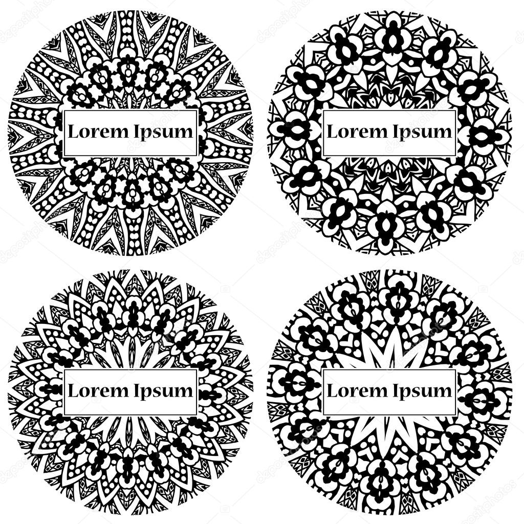 Mandala circle design abstract lace ornament vector illustration abstract lace ornament vector illustration with arabic motifs for card invitation scrap booking vetor de astarte7893 stopboris Gallery