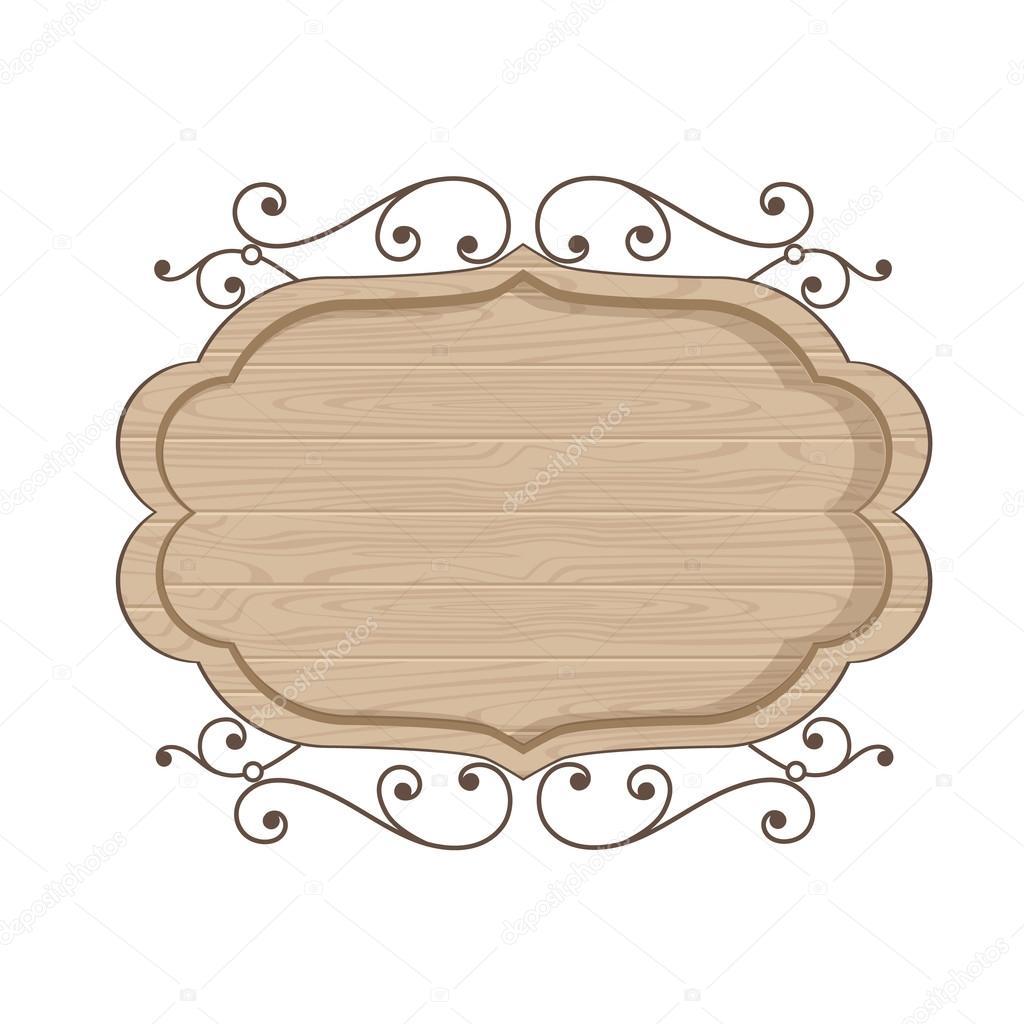Polywood modern clean wood