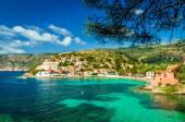 Assos auf der Insel Kefalonia in Griechenland