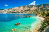 Fotografie Vouti Beach, Insel Kefalonia, Griechenland