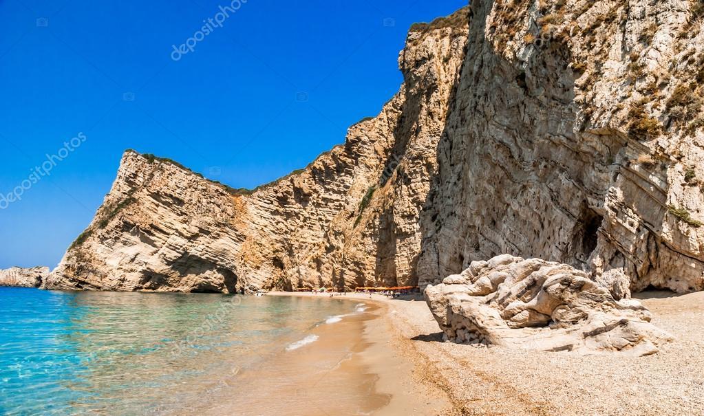 Paradise Beach, Corfu Island, Greece  — Stock Photo