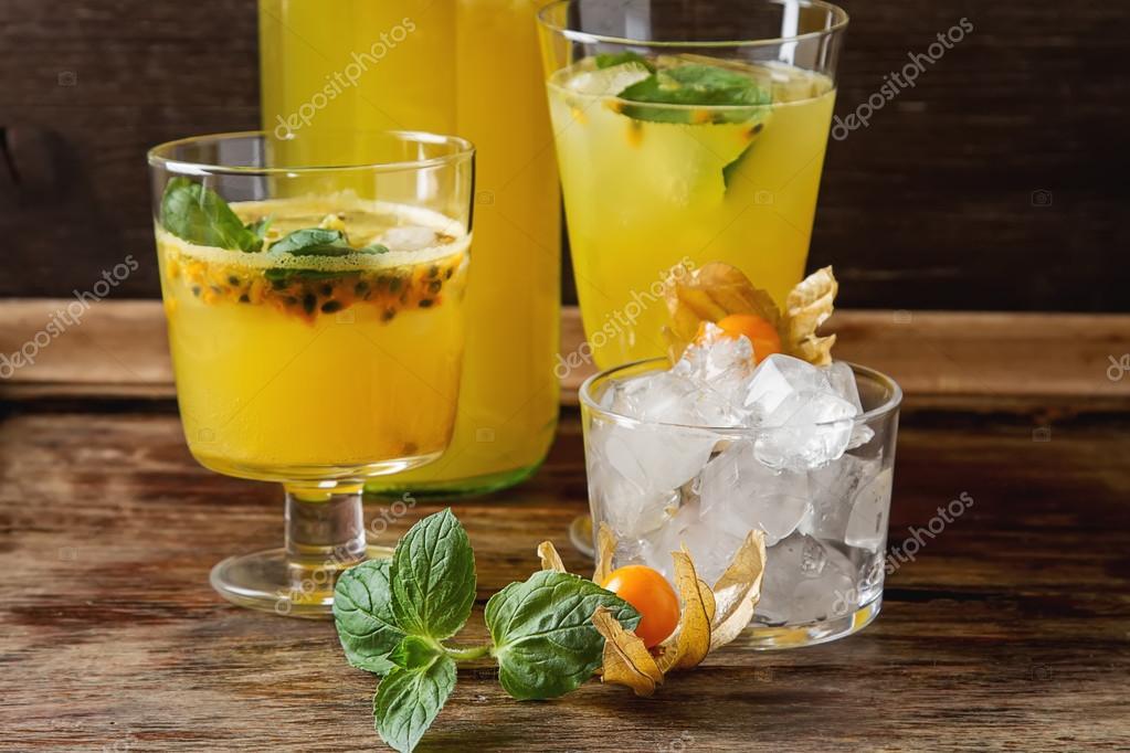 más tarde variedades anchas amplia selección de colores Coctel sin alcohol de maracuya | Alcohol coctel fresco fruta ...