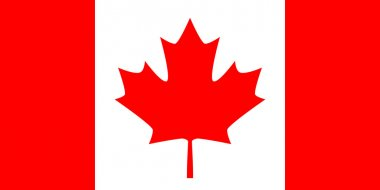 Canada white an red