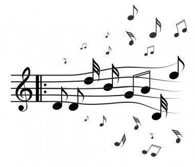 Tones and treble clef