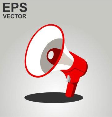 MEGAPHONE VECTOR ISOLATED