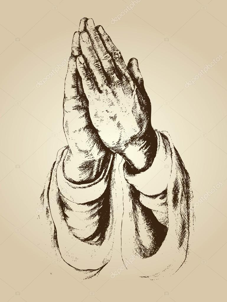 Vektor der Hände und des Glaubens zu beten — Stockvektor © ixies ...