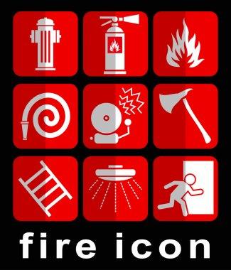 fire icon and symbol