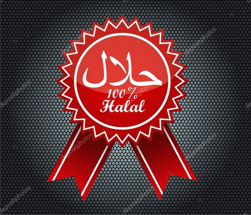halal symbol vector