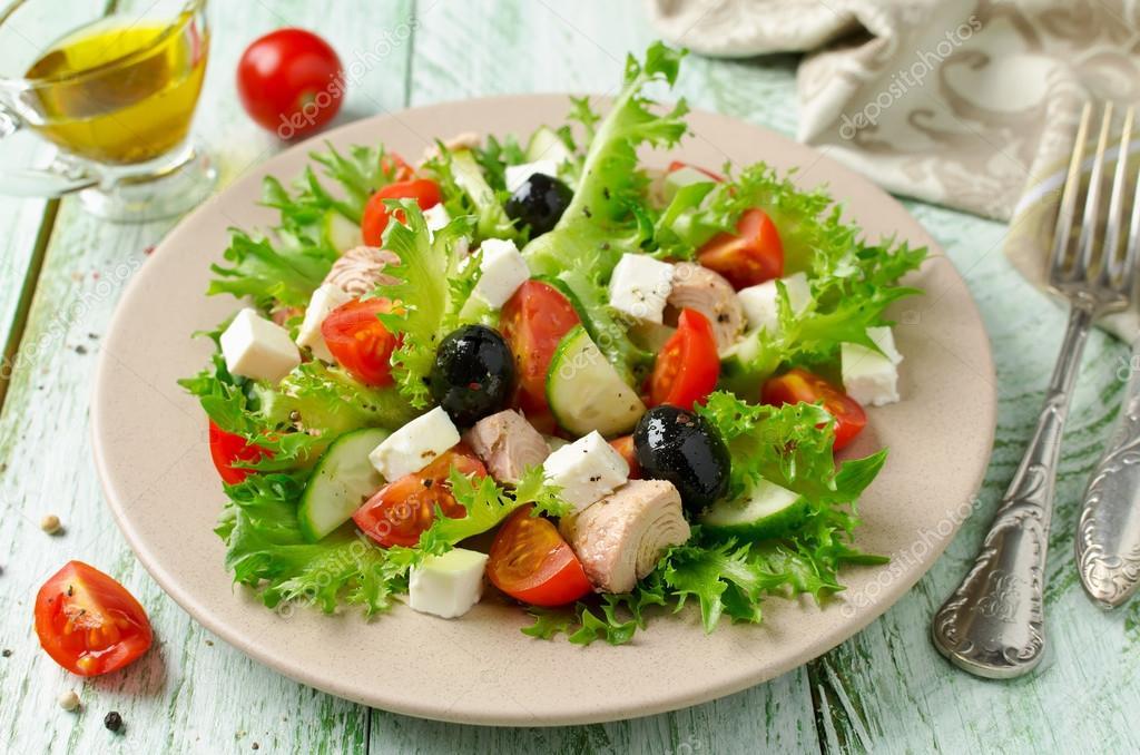 фото салат с тунцом и овощами предыстории игры них