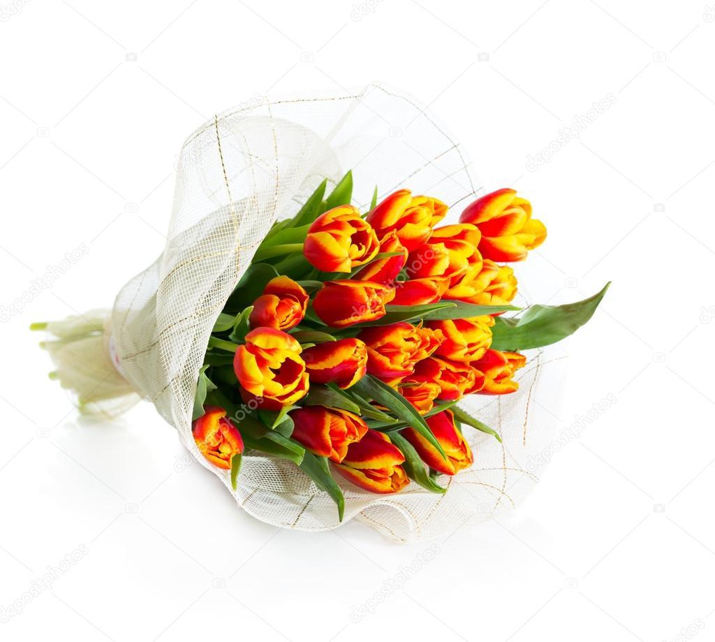 Bouquet di tulipani arancioni foto stock sharlotta u for Tulipani arancioni