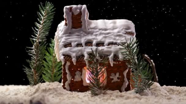 Vánoční perníkové chaloupce