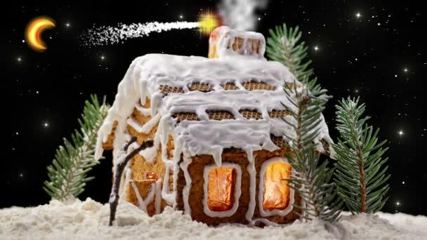 karácsonyi mézeskalács házikó