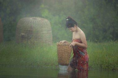 Girl's traditional dress