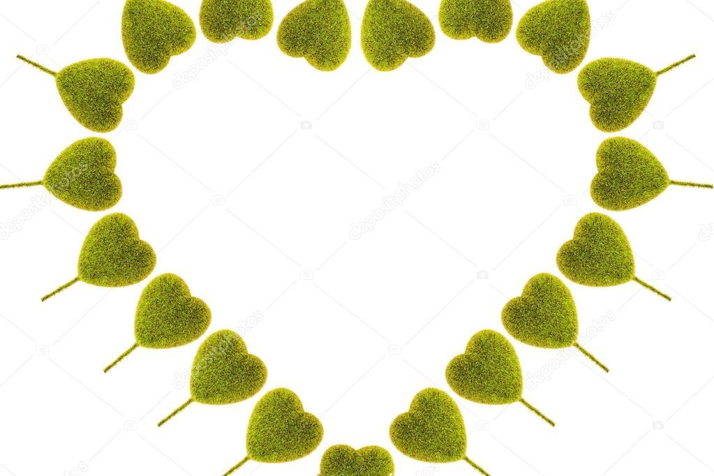 Herzförmige Baum auf weißem Hintergrund — Stockfoto © mydegage #64325513