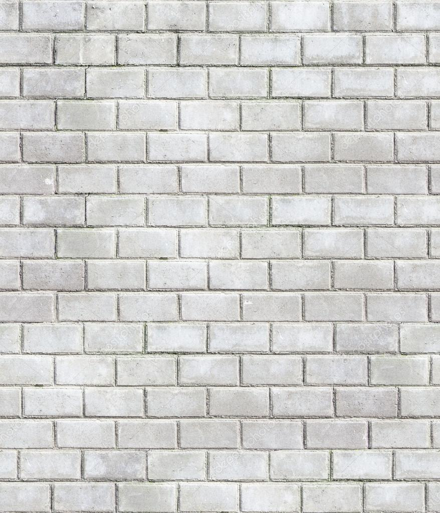 High resolution seamless texture stained old stucco light gray and aged paint white brick wall ...