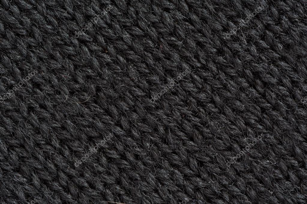 Close Up Photography Of Gray Knit Textile: Dark Grey Wool Texture Close Up Diagonal Direction Of