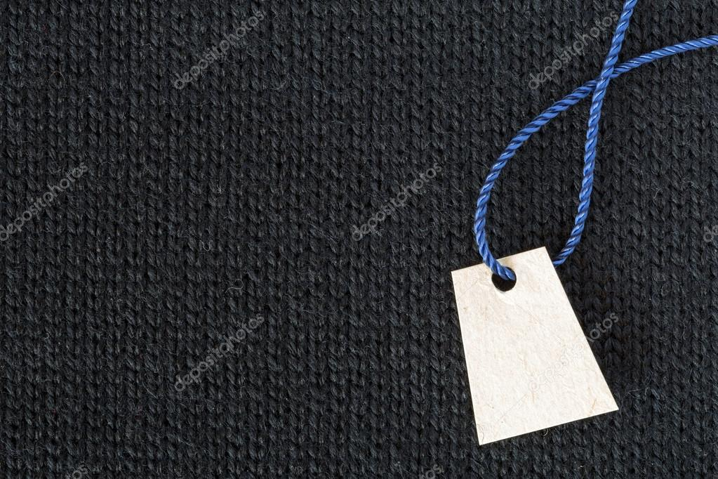 2b6e91526342 Fundo escuro de tecido textura lã cinza e branco preço — Fotografia de Stock