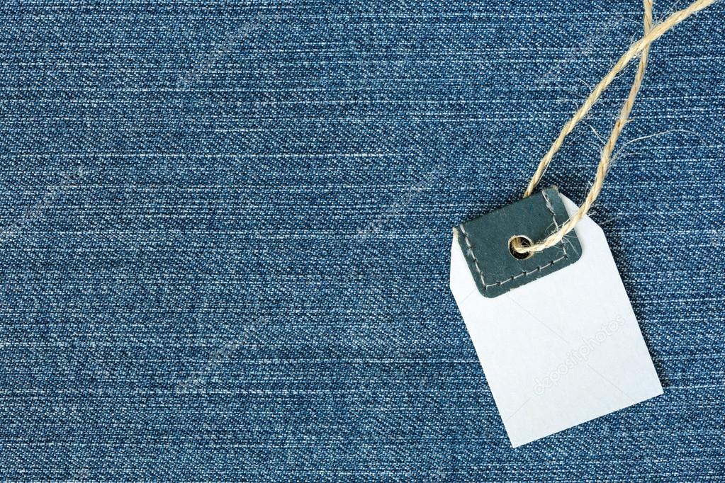 4d73a5e763c2 Vista de fundo de tecido índigo tradicional e preço em branco — Fotografia  de Stock