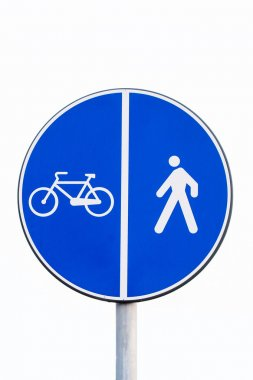 signal  pedestrians and bicycles