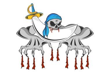 Pirate Zombie Skeleton