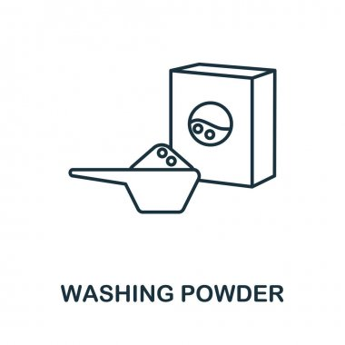 Washing Powder icon. Simple illustration from laundry collection. Creative Washing Powder icon for web design, templates, infographics and more. icon