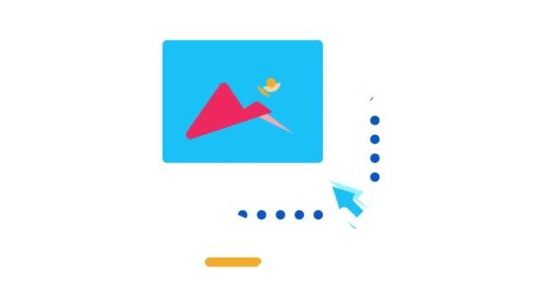 Grafický design a kreativita Animace ikon
