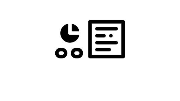 Animace ikon asistenta statistika