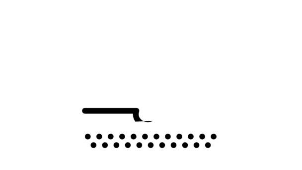 Hajátültetés ikon animáció